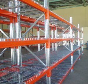 pallet racking mesh decks