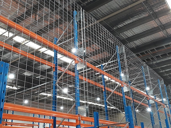 safety screen pallet racking maxstor