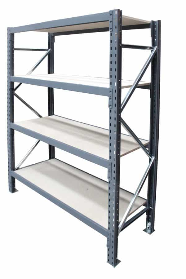 long span shelving initial bay